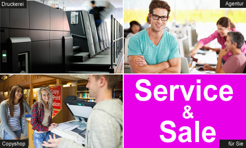 Druckerei24 bietet Ihnen als Druckpartner spezielle Drucklösungen